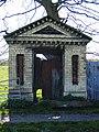 Ornamental Doorway by Old Hall Farm - geograph.org.uk - 410458.jpg