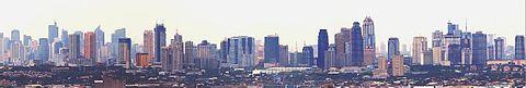 Panoràmica de Makati i Pásig
