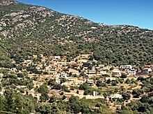Carte Corse Osani.Osani Wikipedia