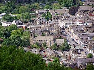 Otley - A view over Otley.