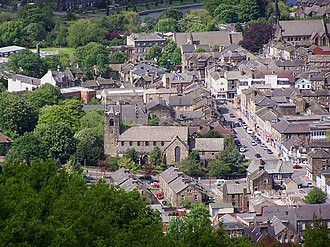 Otley - A view over Otley.