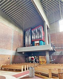 Ottobrunn, Michaelskirche (Rieger-Orgel, Prospekt) (10).jpg