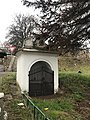Overview of chapel of Saint Juda Tadeas in Domoušice, Louny District.jpg
