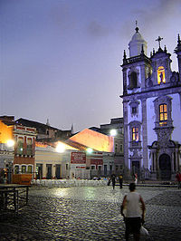 Pátio de São Pedro e parte da Concatedral