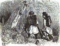 P.B. Fantassins russes en éclaireurs dans une forét de la Tchetchenia. Floriant Gille. Lettres sur le Caucase et la Crimée. 1859. P.163.jpg