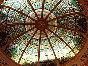 Alfred Godwin - Supreme Court Chamber dome (1906), Pennsylvania State Capitol, Harrisburg.