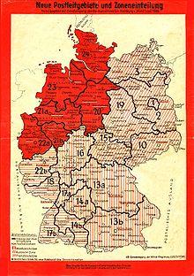 Liste Der Postleitregionen In Deutschland Wikipedia