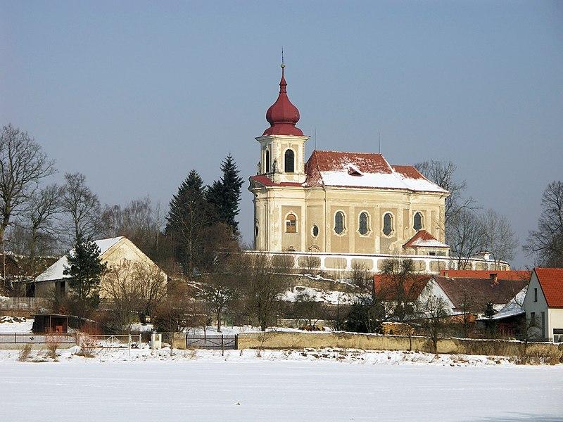 Kostel sv. Jana Křtitele v Paštikách