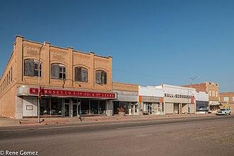 Paducah, Texas - Downtown Paducah, Texas