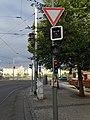 Palackého náměstí, semafory od Moráně.jpg