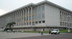 Palais du Peuple (Kinshasa) - The Palace of the People in 2009