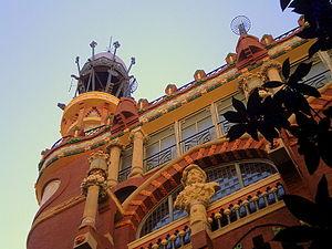 Català: Palau de la Música Catalana (Barcelona)
