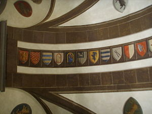 Guilds of Florence - Symbols of the guilds in the Palazzo Spini Feroni