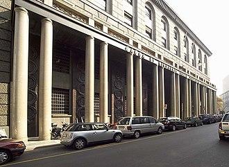 Intesa Sanpaolo - Image: Palazzo delle colonne, esterno 22
