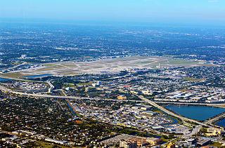 Palm Beach International Airport Airport in West Palm Beach, Florida, US