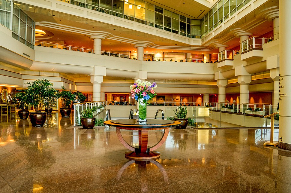 Pan Pacific Vancouver Lobby