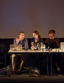 Panel of the WMF Grants Showcase; Funding Diversity session at Wikimania 2014 (3).jpg