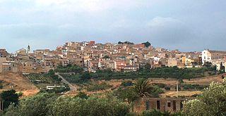 Cianciana Comune in Sicily, Italy