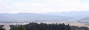 Ina, Nagano - Image: Panorama of Ina City