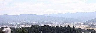 Ina, Nagano - Image: Panorama of Ina City