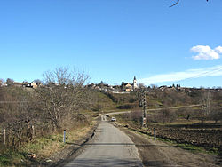 View of the village.