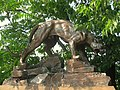 Panther statue, Panther Hollow bridge, Schenley Park, Pittsburgh - 1.jpg