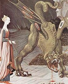 Paolo Uccello: San Giorgio e il drago (particolare)