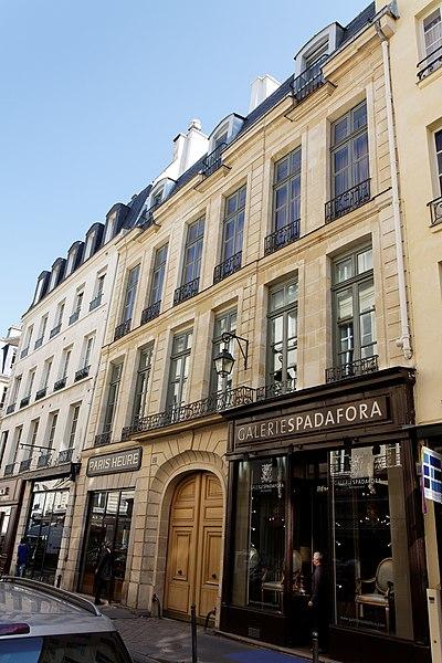 File paris h tel particulier 21 rue du bac wikimedia commons - Poltrona frau rue du bac ...