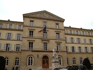 Institut National des Jeunes Aveugles School in Paris, France