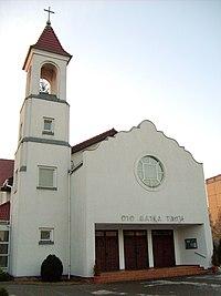 Parish church in Swarzedz.JPG