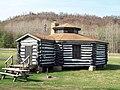 Parker Dam State Park-Octagonal Lodge Apr 10.JPG