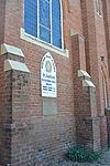 Parkes Presbyterian Church Foundation Stone and Sign.JPG