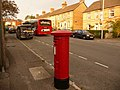 Parkstone, postbox No. BH14 62, North Road - geograph.org.uk - 1436360.jpg