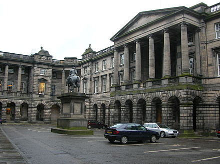 The old Parliament House, housing the Court of Session