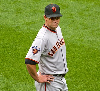 Pat Burrell - Burrell with the Giants in 2011