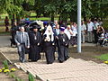 Patriarch Kirill in Memorial park 01.JPG