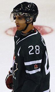 Patrice Cormier Canadian professional ice hockey forward