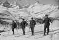 Patrouille auf Skiern - CH-BAR - 3237142.tif