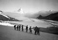 Patrouille auf dem Monte Rosa Gletscher - CH-BAR - 3238941.tif
