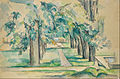 Paul Cézanne - Avenue of Chestnut Trees at the Jas de Bouffan - Google Art Project.jpg