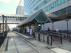 Newport (HBLR station) - Station platform