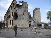 Peacekeepers barracks Ossetia 2008