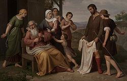 Pelegrí Clavé i Roqué: Jacob rep la túnica ensangonada del seu fill Josep