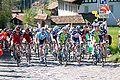 Peloton Lorette - seconde étape du Tour de Romandie 2010.jpg