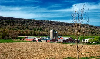 Haines Township, Centre County, Pennsylvania - A farm in Haines Township