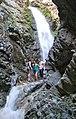 People at Zapata Falls (8621894149).jpg