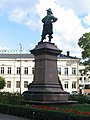 Per Brahes statue in Turku, 29.6.2008.jpg