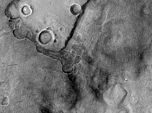 Scalloped topography - Image: Periglacial Forms in Utopia