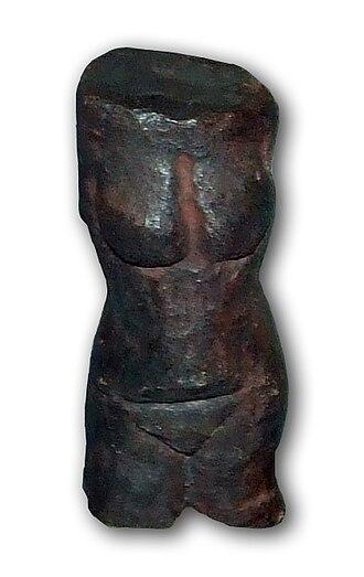 Venus of Petřkovice - Replica of Venus of Petřkovice