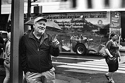 Peter Lindbergh, New York, 2016 (© Stefan Rappo)